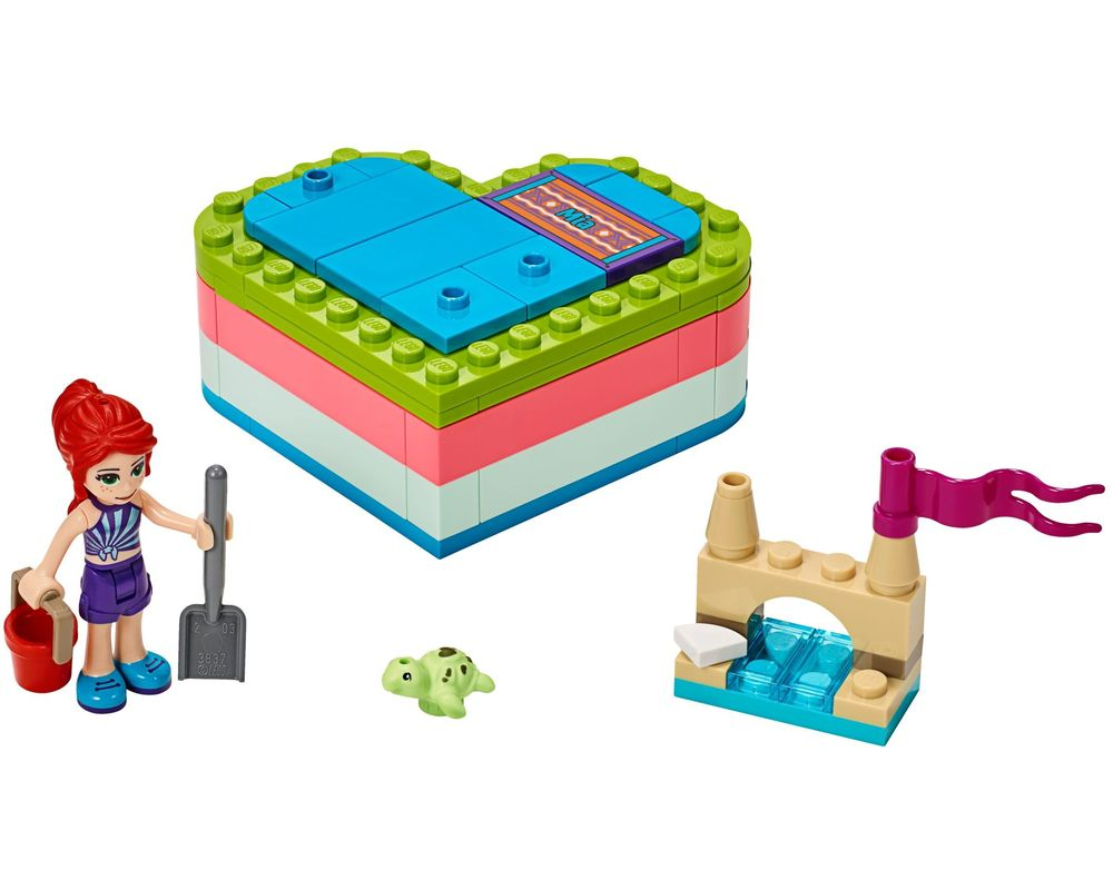 LEGO Set 41388-1 Mia's Summer Heart Box (LEGO - Model)