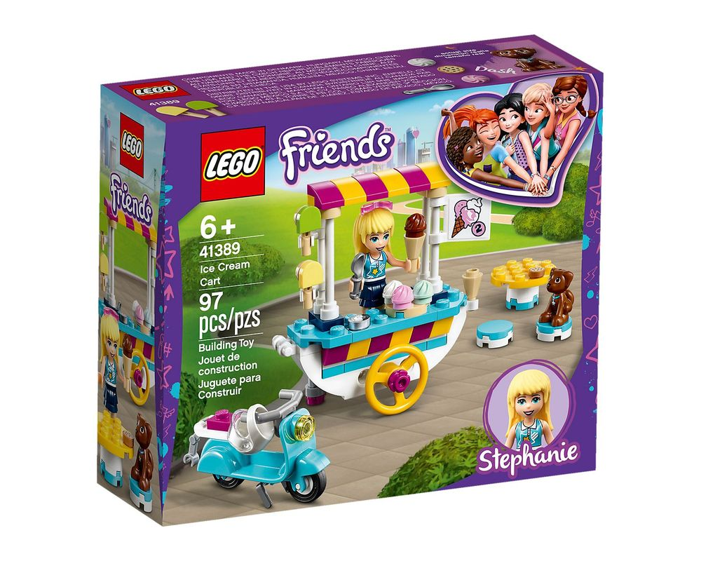 LEGO Set 41389-1 Ice Cream Cart