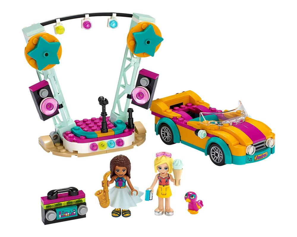 LEGO Set 41390-1 Andrea's Car & Stage