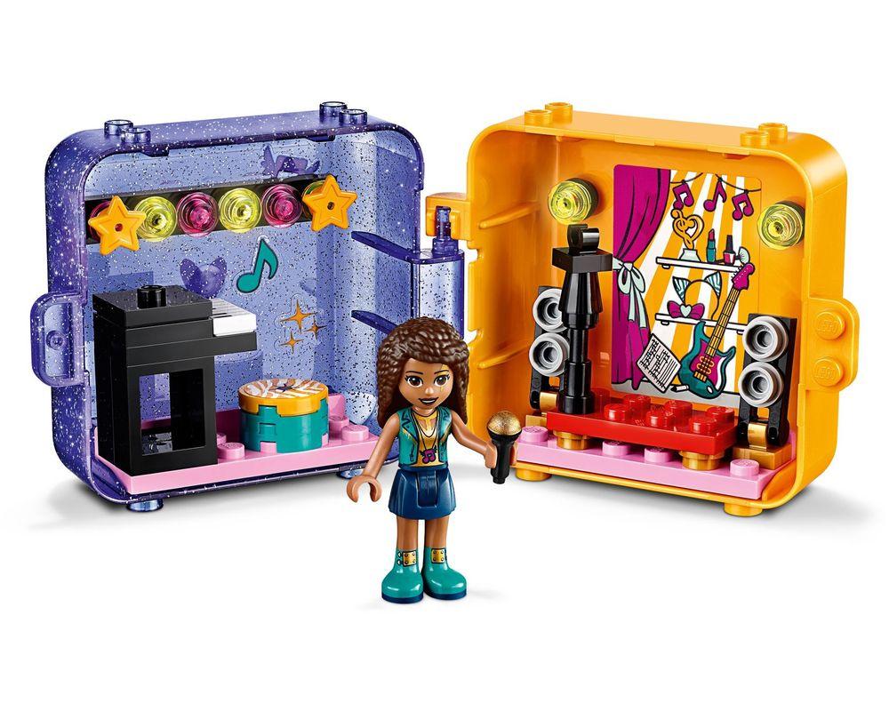 LEGO Set 41400-1 Andrea's Play Cube - Dark Azure Bird (LEGO - Model)