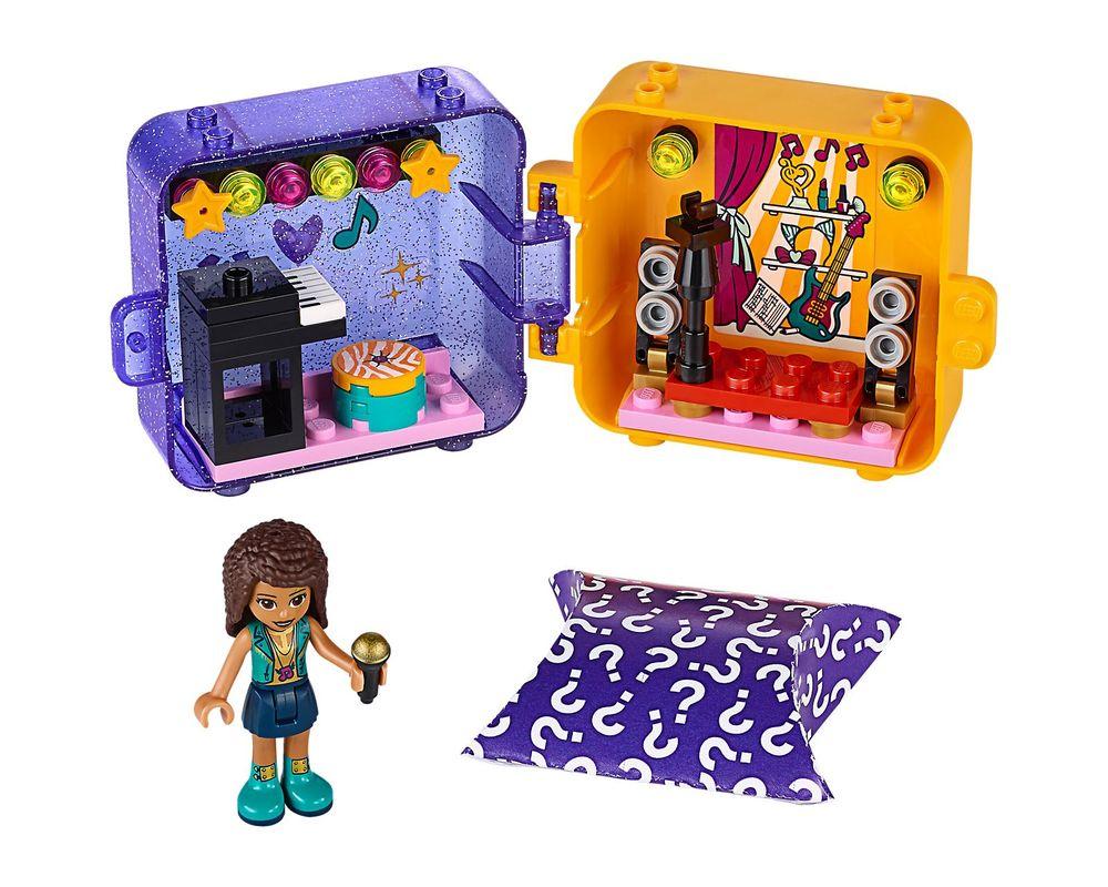 LEGO Set 41400-1 Andrea's Play Cube - Dark Azure Bird