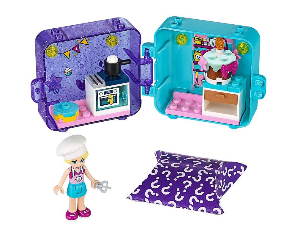 LEGO Set 41401-1 Stephanie's Play Cube - Dark Azure Puppy (Model - A-Model)