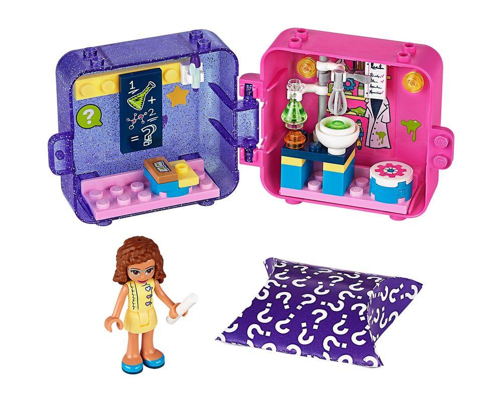 LEGO Set 41402-1 Olivia's Play Cube - Dark Azure Hamster (Model - A-Model)