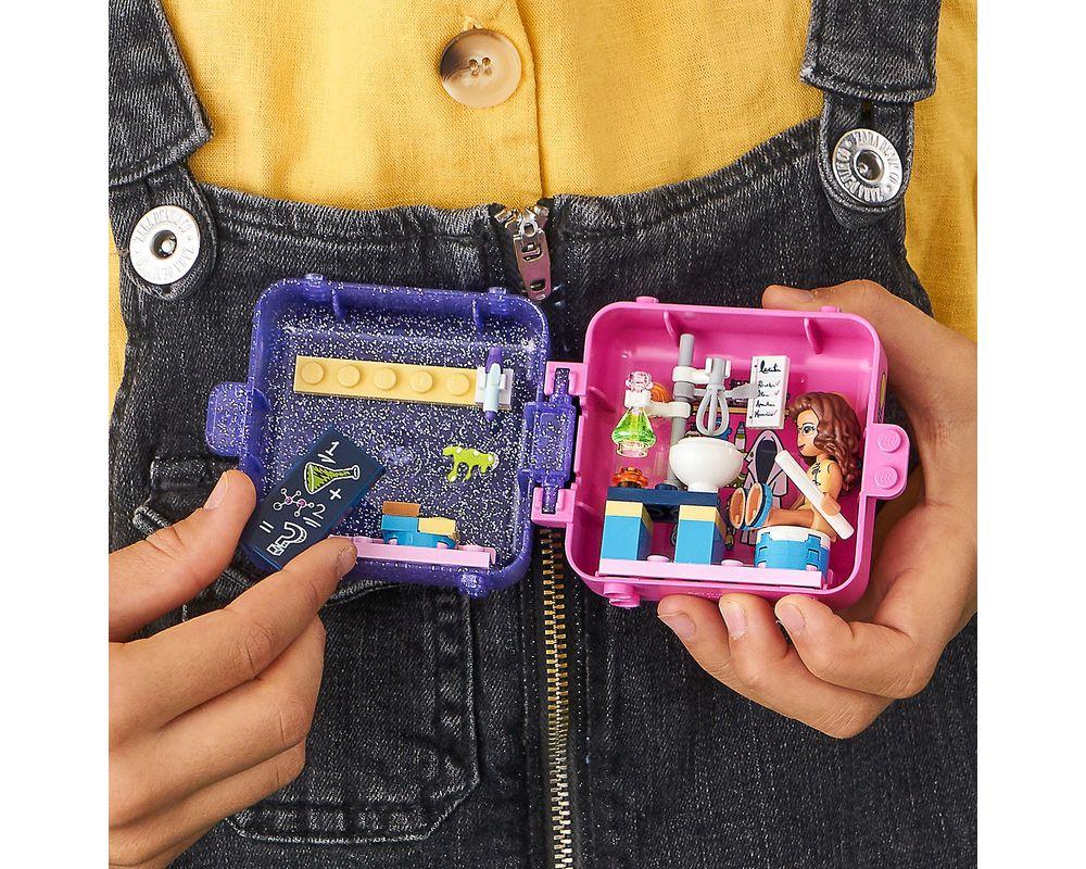 LEGO Set 41402-1 Olivia's Play Cube - Dark Azure Hamster