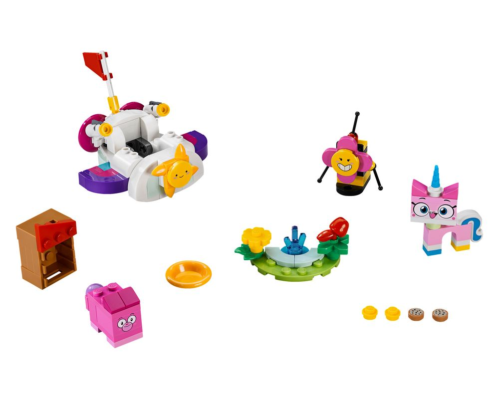 LEGO Set 41451-1 Unikitty Cloud Car (Model - A-Model)