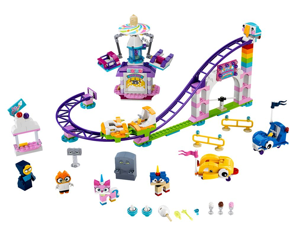 LEGO Set 41456-1 Unikingdom Fairground Fun (Model - A-Model)