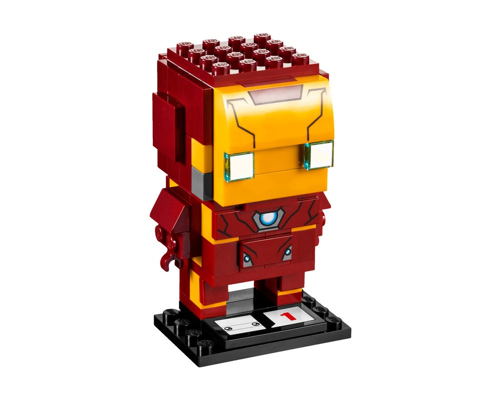LEGO Set 41590-1 Iron Man (Model - A-Model)