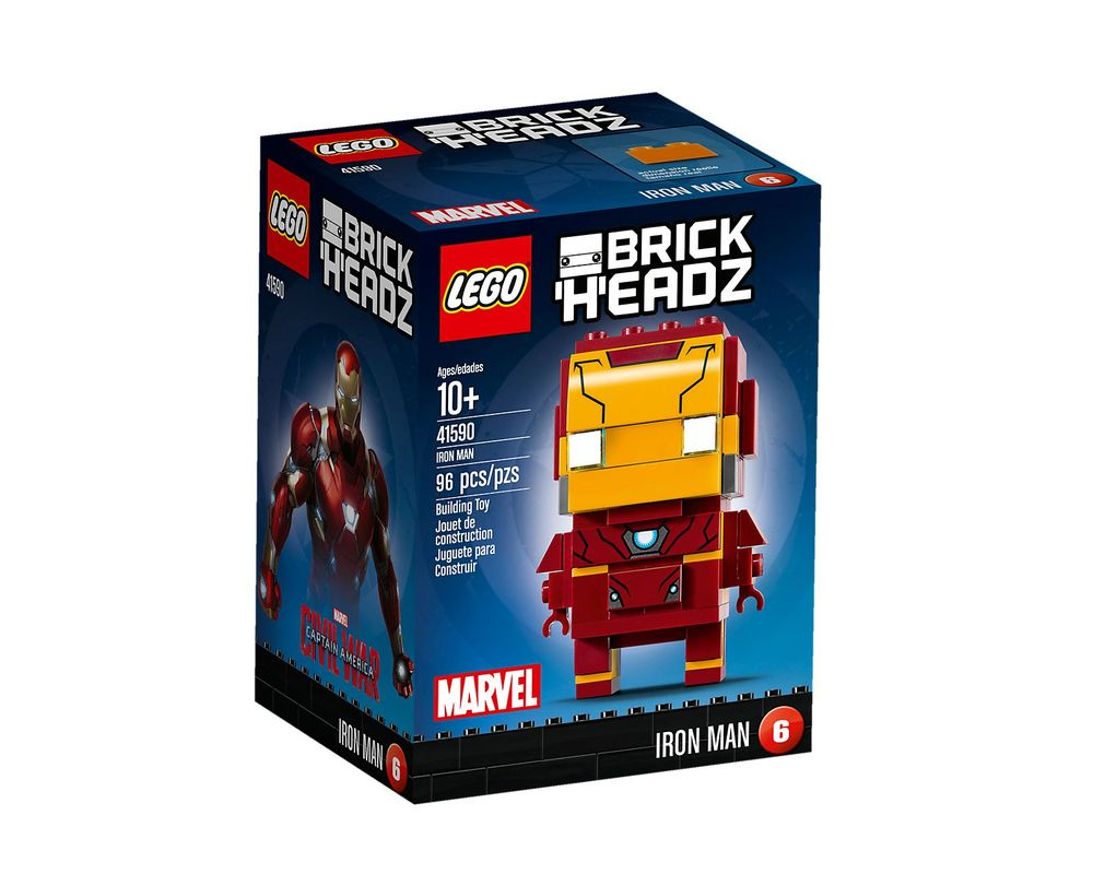 LEGO Set 41590-1 Iron Man