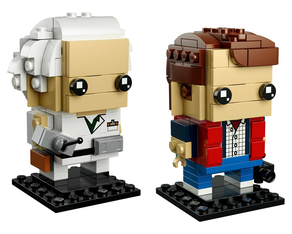 LEGO Set 41611-1 Marty McFly & Doc Brown (LEGO - Model)