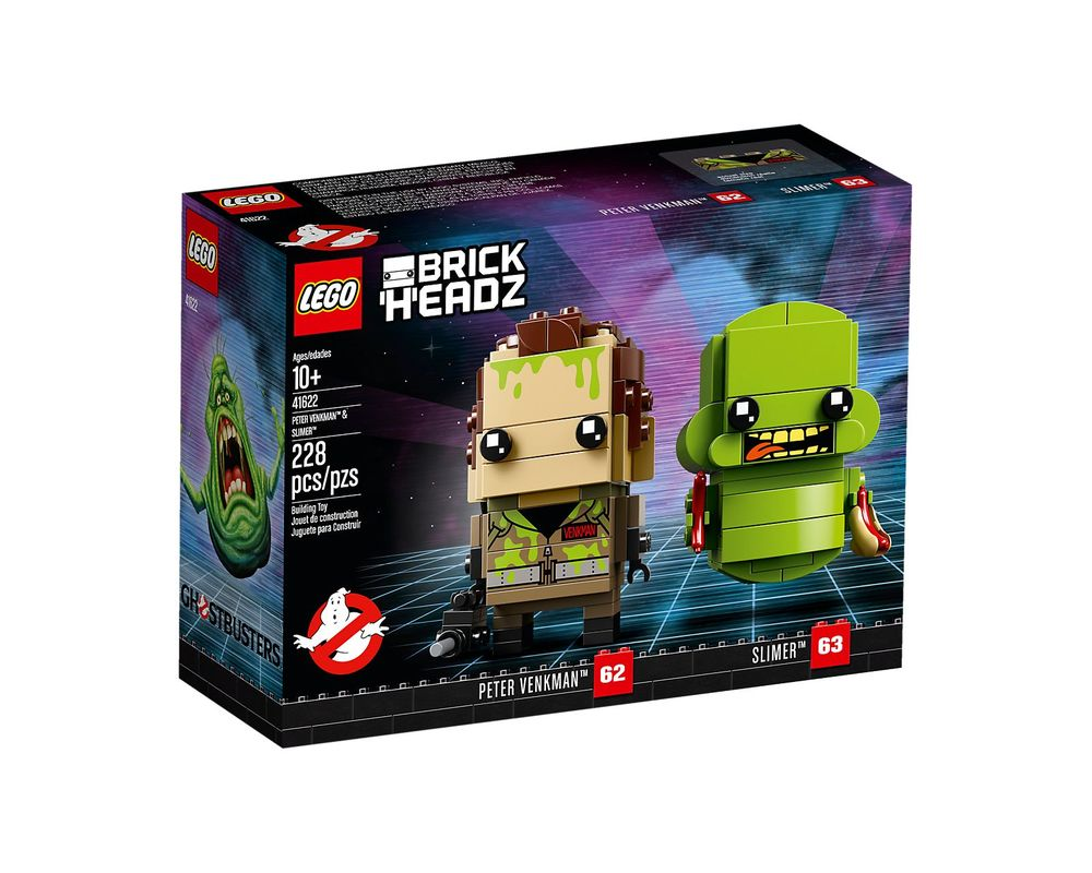 LEGO Set 41622-1 Peter Venkman & Slimer