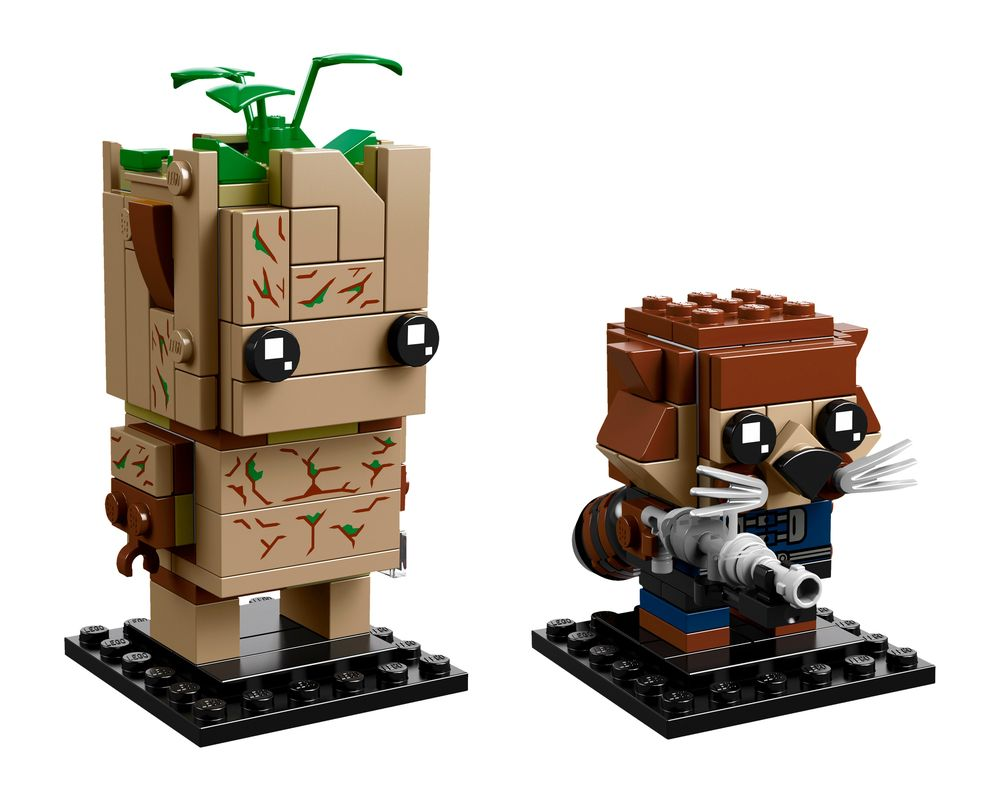 LEGO Set 41626-1 Groot & Rocket (LEGO - Model)