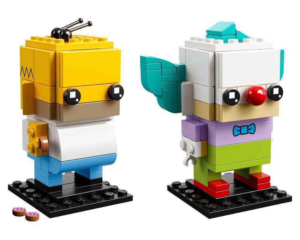 LEGO Set 41632-1 Homer Simpson & Krusty the Clown (Model - A-Model)