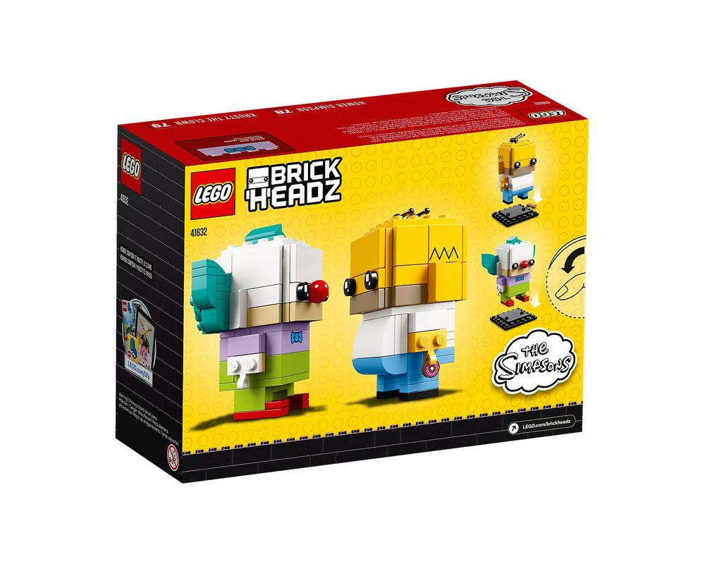 LEGO Set 41632-1 Homer Simpson & Krusty the Clown
