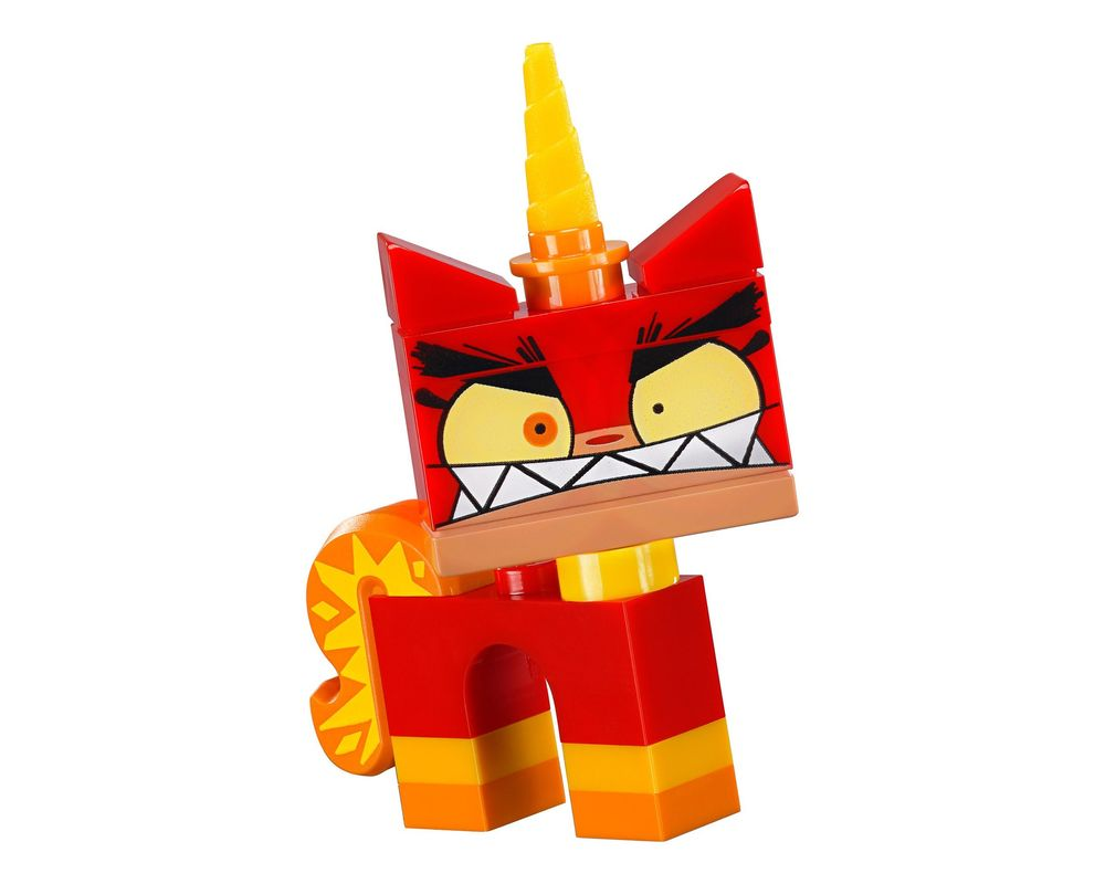 LEGO Set 41775-2 Angry Unikitty (Model - A-Model)