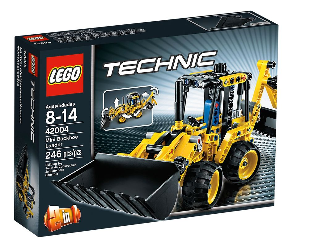 LEGO Set 42004-1 Mini Backhoe Loader