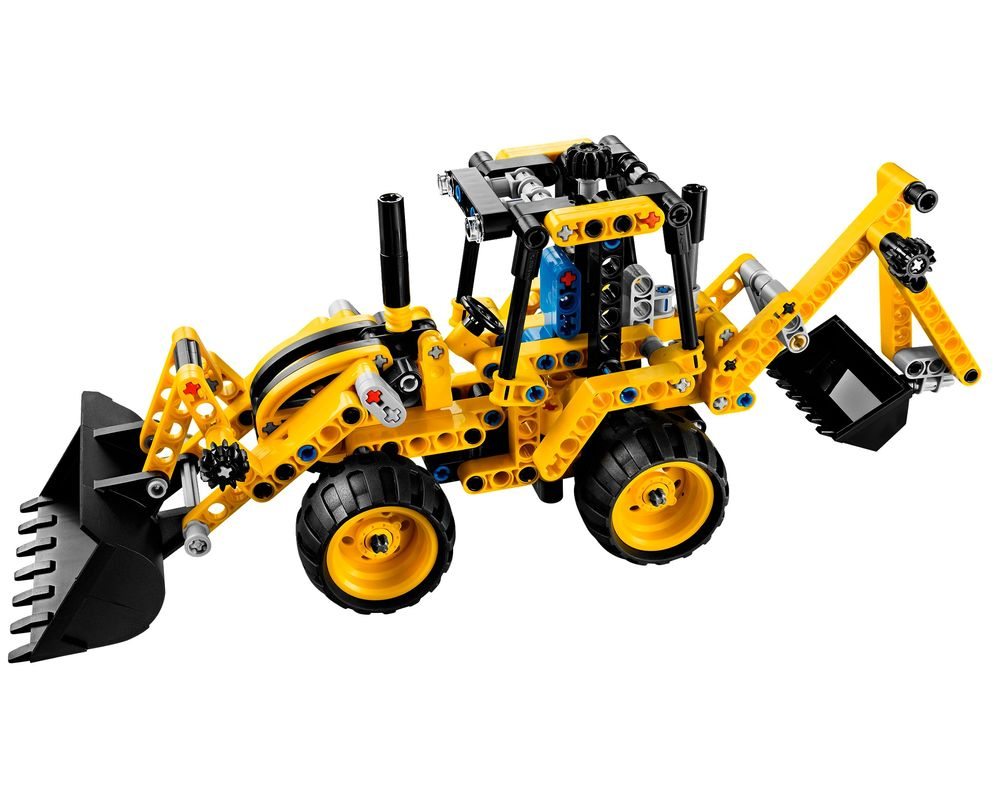 LEGO Set 42004-1 Mini Backhoe Loader (Model - A-Model)