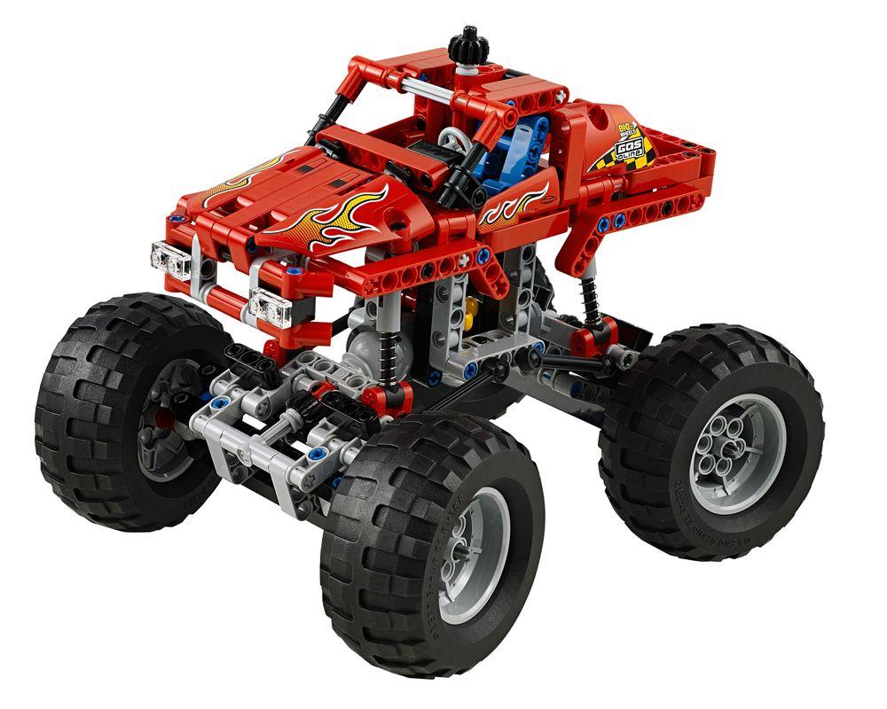 LEGO Set 42005-1 Monster Truck (LEGO - Model)