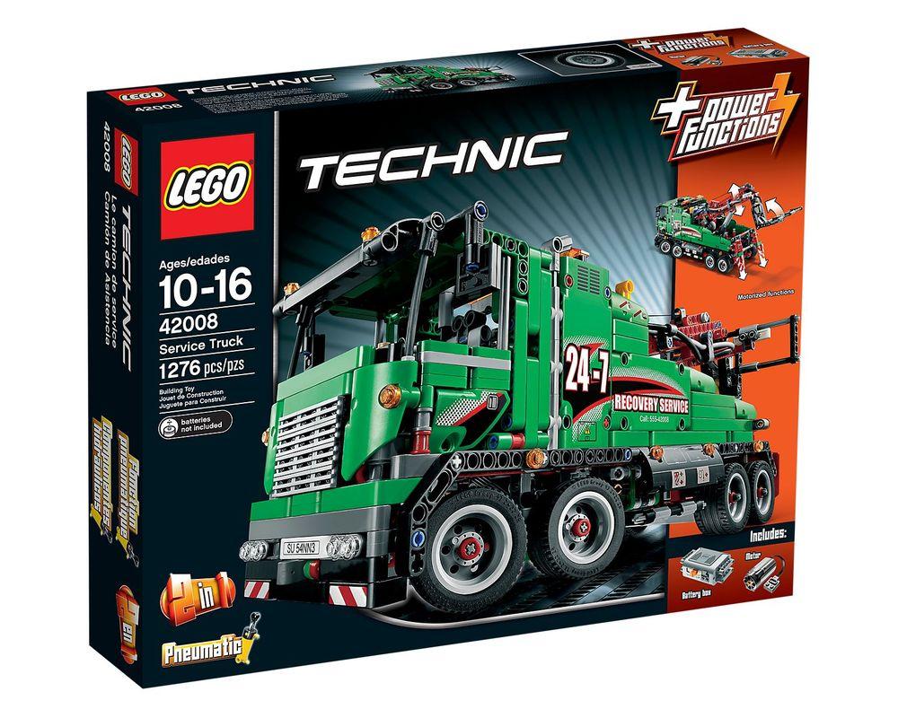 LEGO Set 42008-1 Service Truck