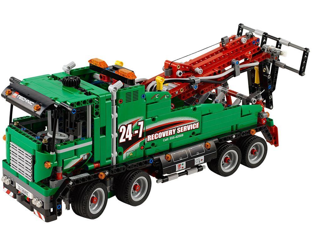 LEGO Set 42008-1 Service Truck (Model - A-Model)