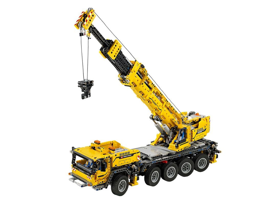 LEGO Set 42009-1 Mobile Crane MK II (Model - A-Model)