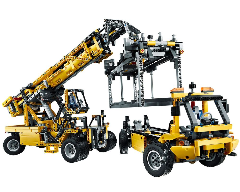 LEGO Set 42009-1 Mobile Crane MK II (Model - B-Model)