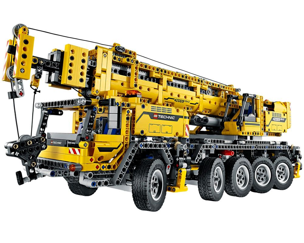 LEGO Set 42009-1 Mobile Crane MK II (LEGO - Model)