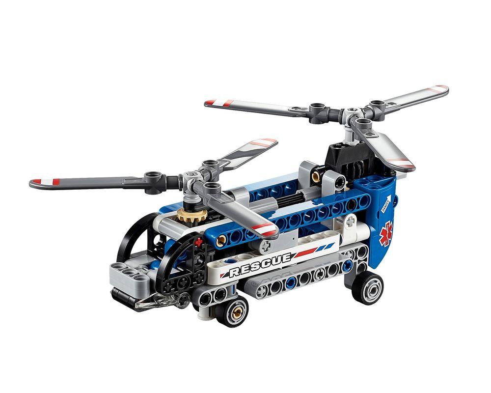 LEGO Set 42020-1 Twin Rotor Helicopter (LEGO - Model)