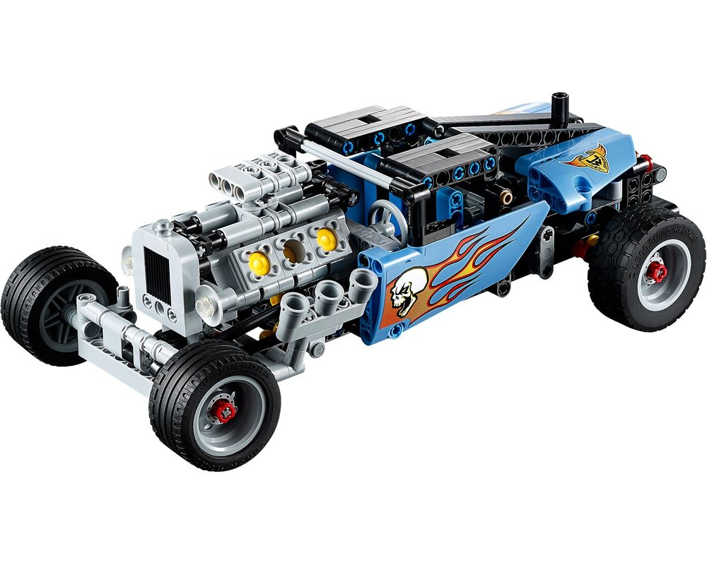 LEGO Set 42022-1 Hot Rod (LEGO - Model)