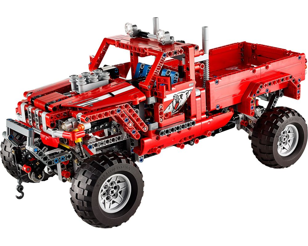 LEGO Set 42029-1 Customized Pick up Truck (Model - A-Model)