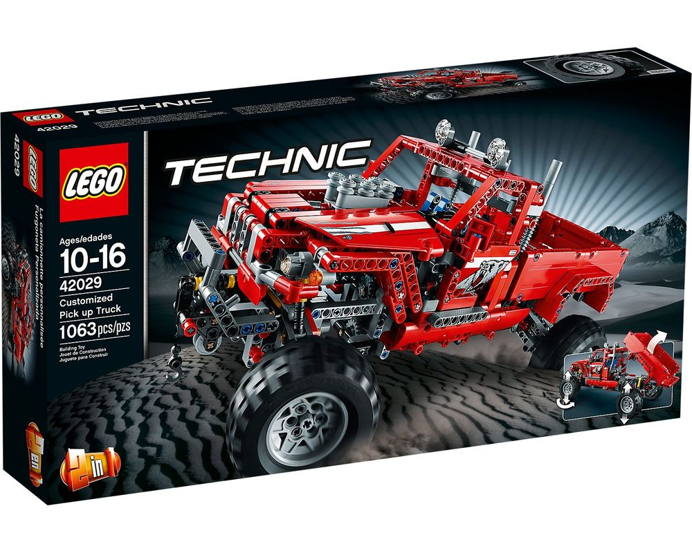 LEGO Set 42029-1 Customized Pick up Truck