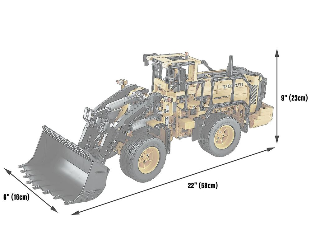 LEGO Set 42030-1 Remote-Controlled Volvo L350F Wheel Loader