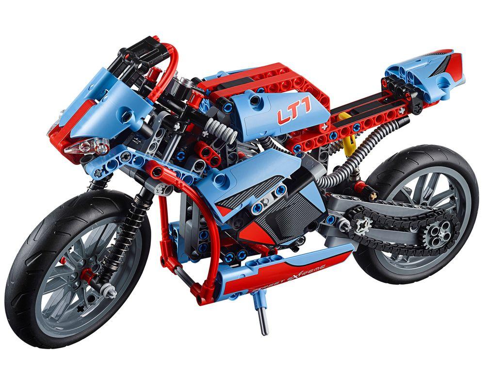 LEGO Set 42036-1 Street Motorcycle (LEGO - Model)