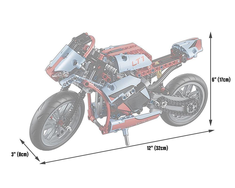 LEGO Set 42036-1 Street Motorcycle