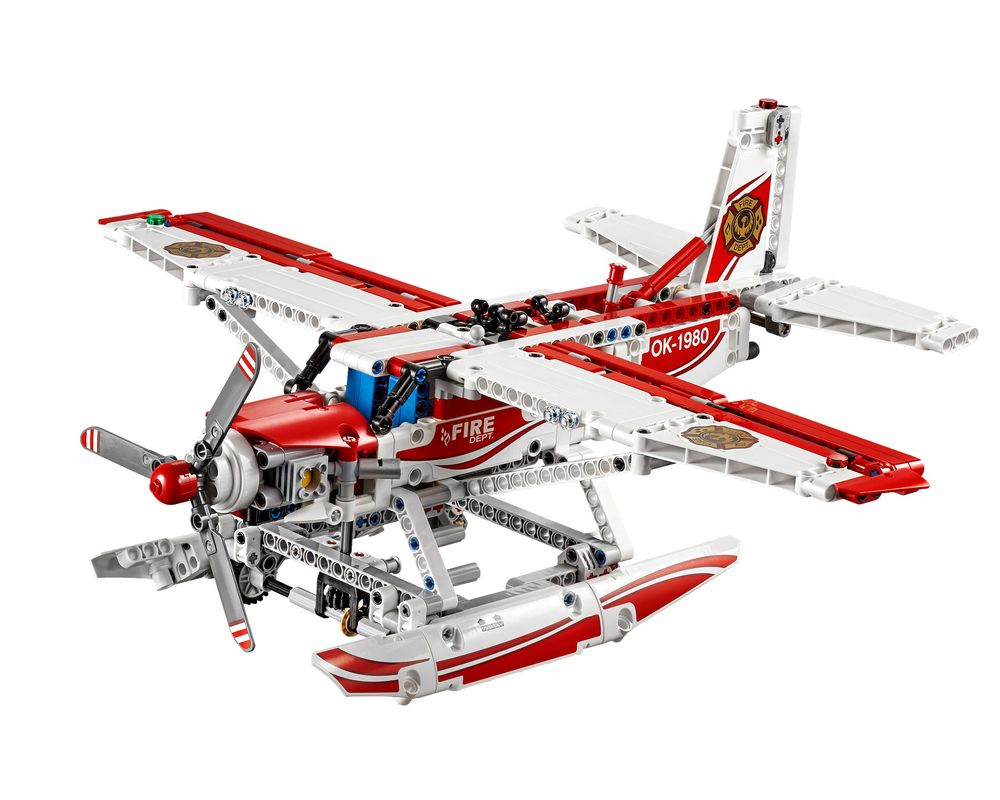LEGO Set 42040-1 Fire Plane (Model - A-Model)