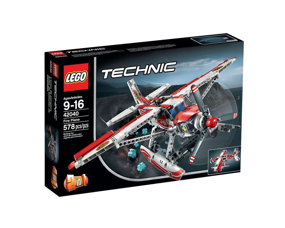 LEGO Set 42040-1 Fire Plane