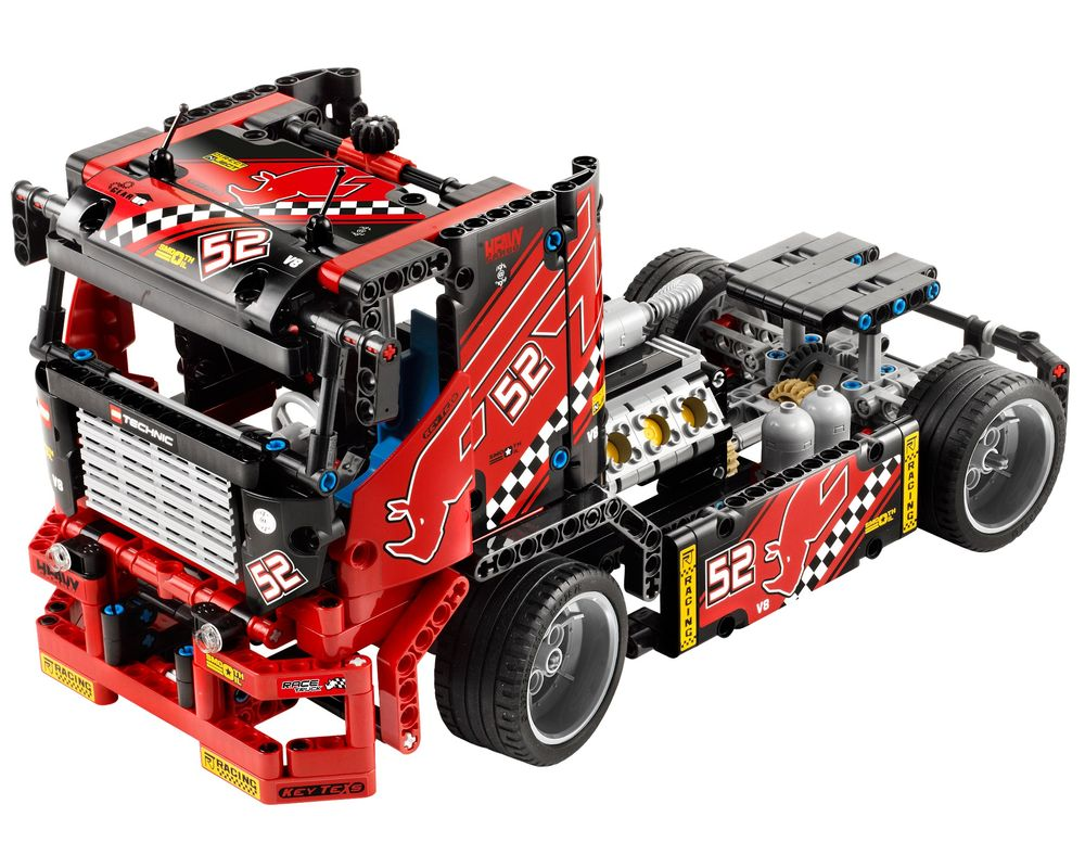 LEGO Set 42041-1 Race Truck (Model - A-Model)