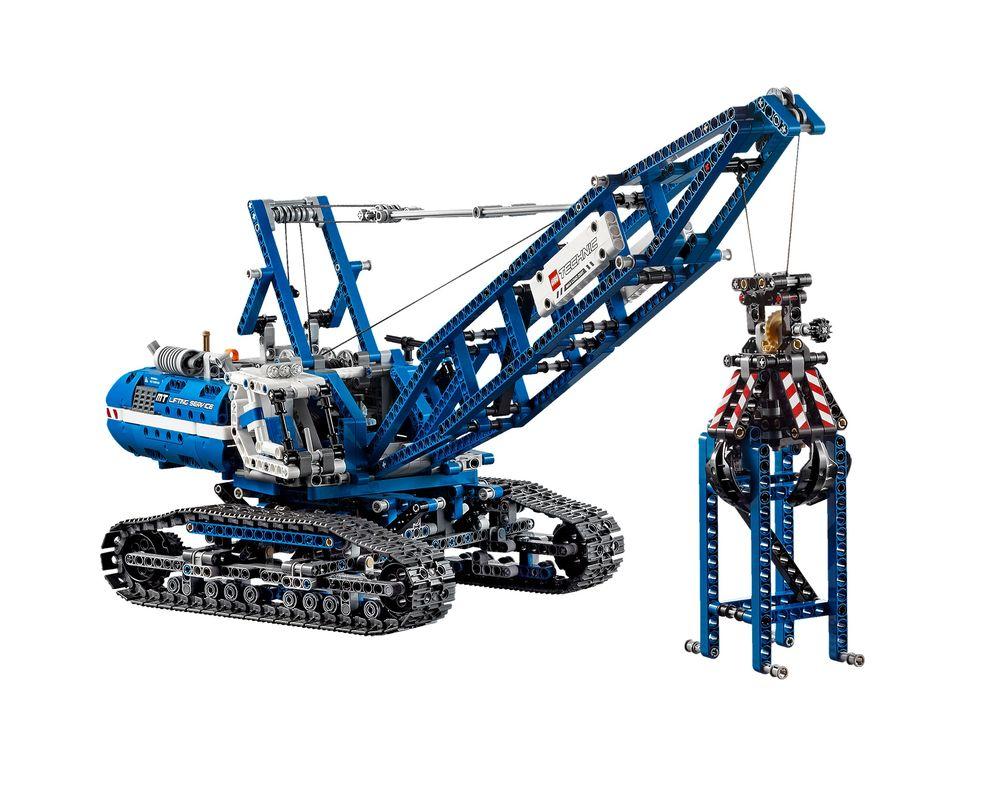 LEGO Set 42042-1 Crawler Crane (Model - A-Model)