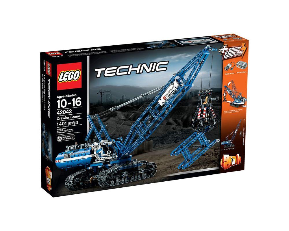 LEGO Set 42042-1 Crawler Crane