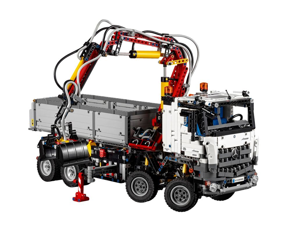 LEGO Set 42043-1 Mercedes Benz Arocs 3245 (Model - A-Model)