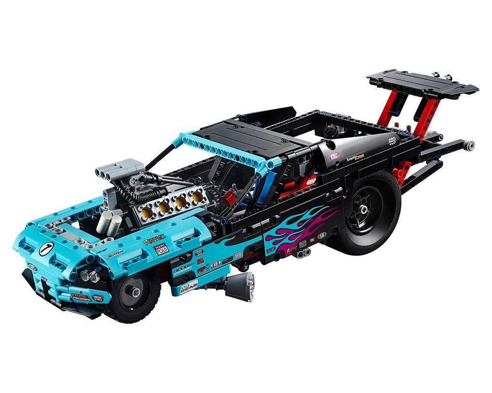 LEGO Set 42050-1 Drag Racer (LEGO - Model)