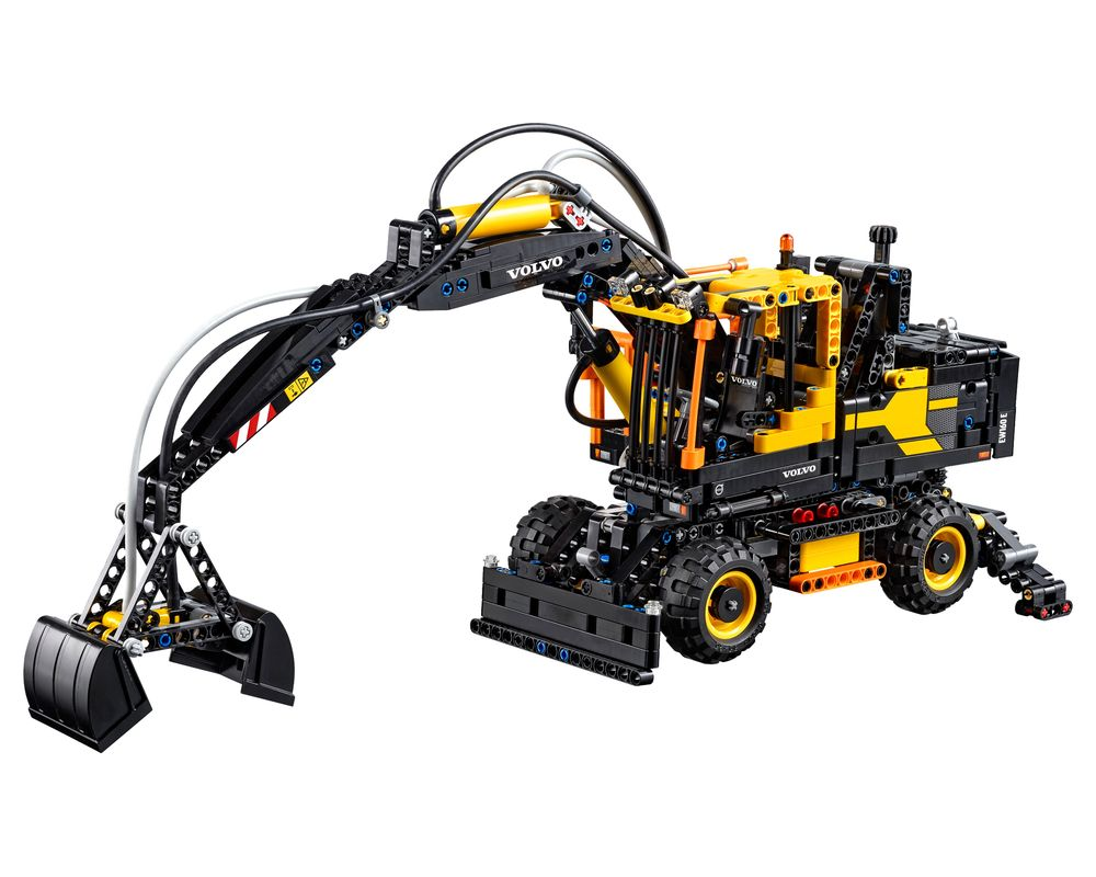 LEGO Set 42053-1 Volvo EW 160E (Model - A-Model)
