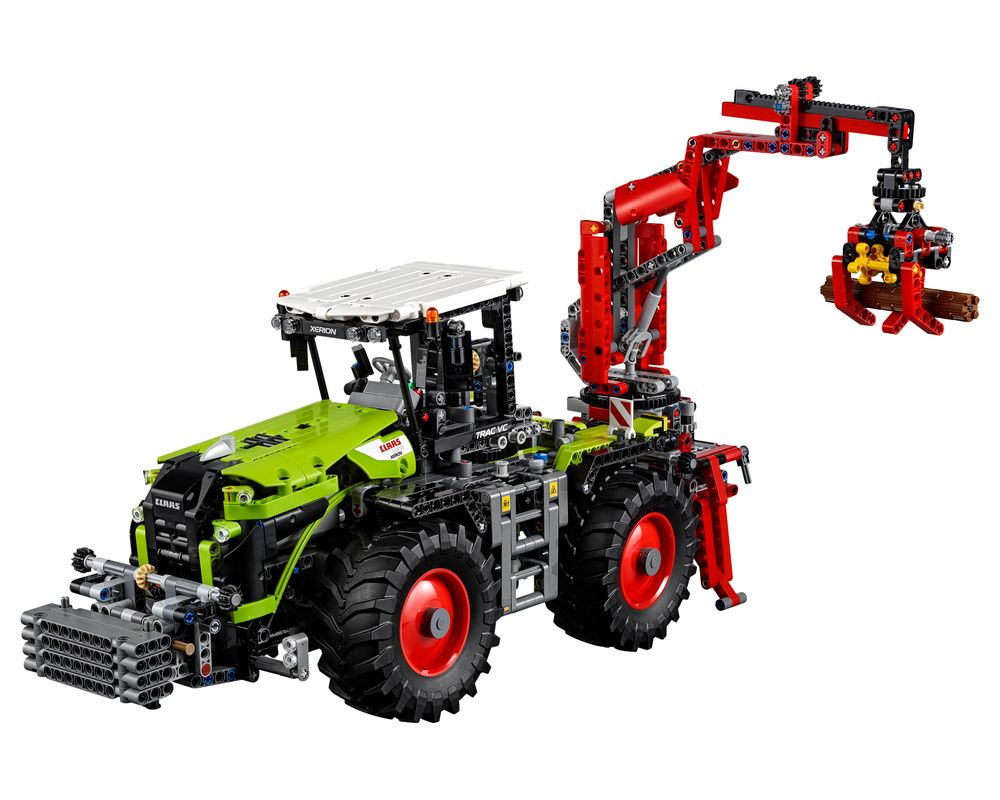 LEGO Set 42054-1 CLAAS XERION 5000 TRAC VC (Model - A-Model)
