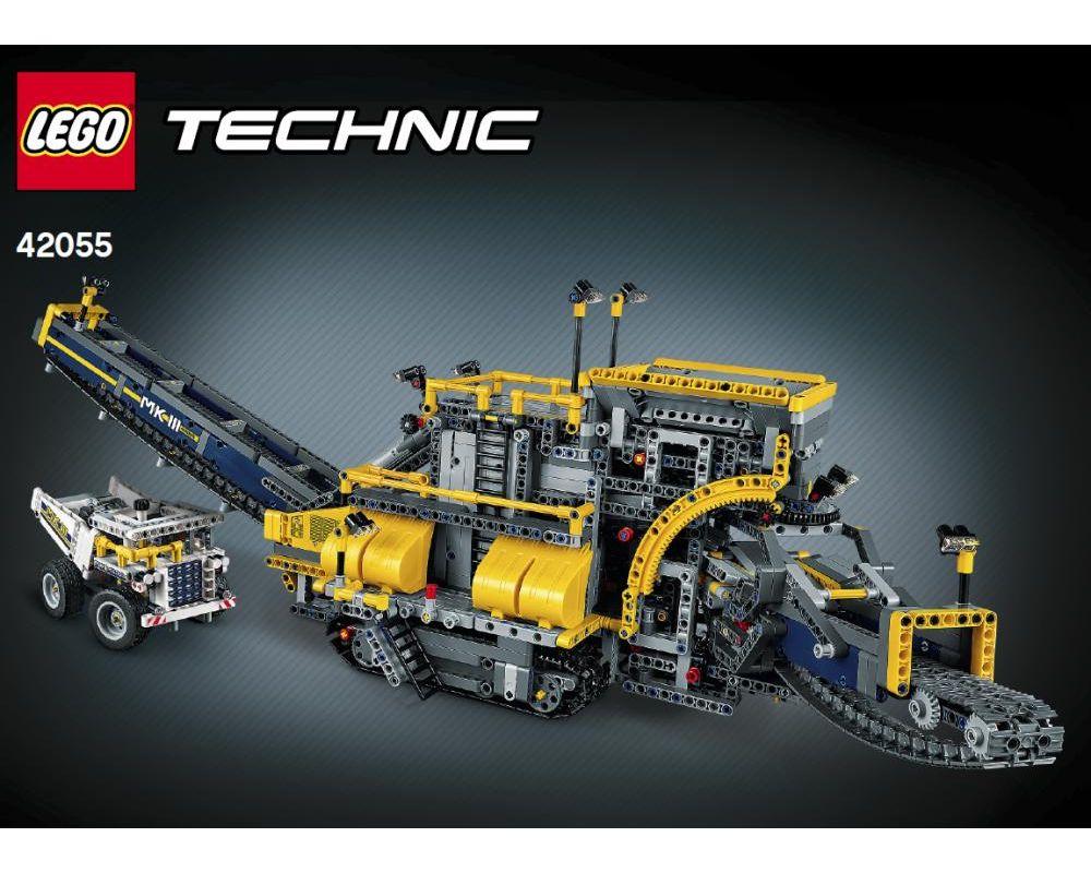 Lego Set 42055 1 B1 Mobile Aggregate Processing Plant 2016 Technic Model Construction Rebrickable Build With Lego