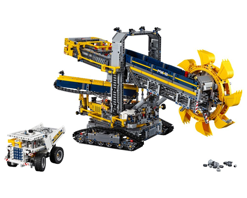 LEGO Set 42055-1 Bucket Wheel Excavator (LEGO - Model)
