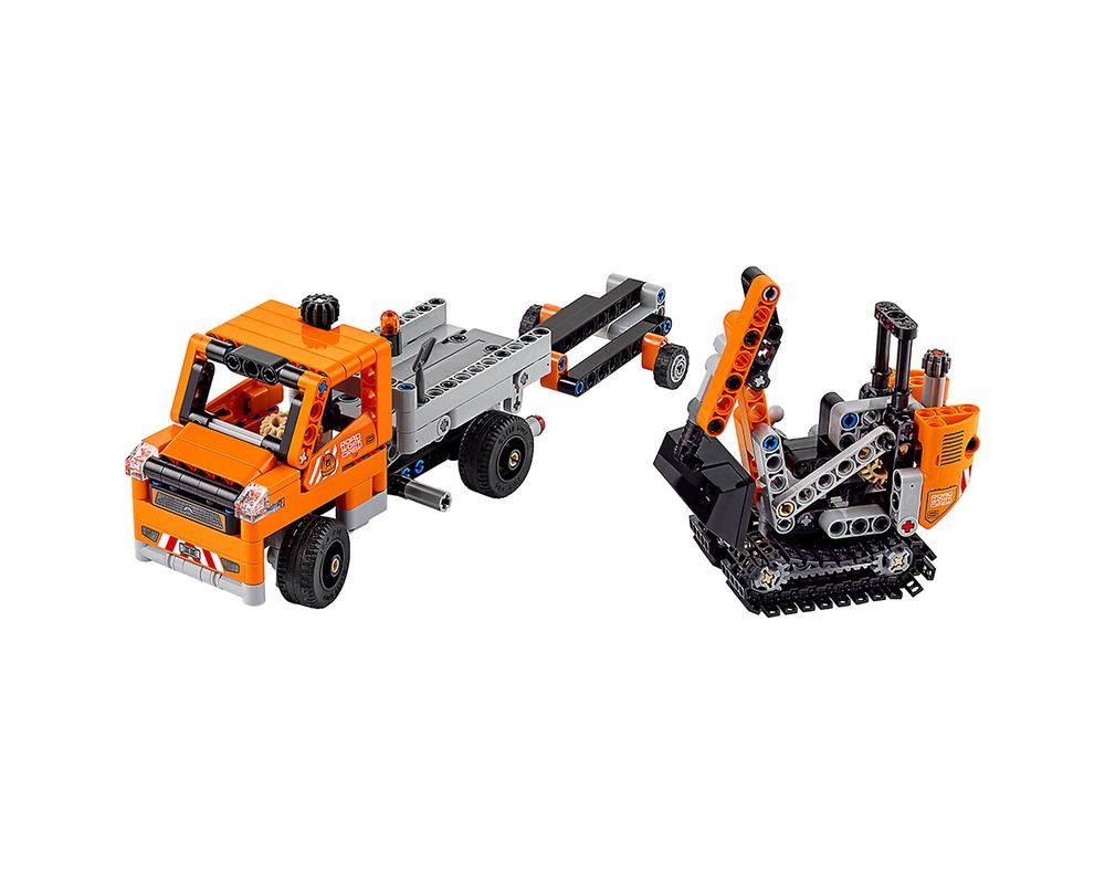 LEGO Set 42060-1 Roadwork Crew