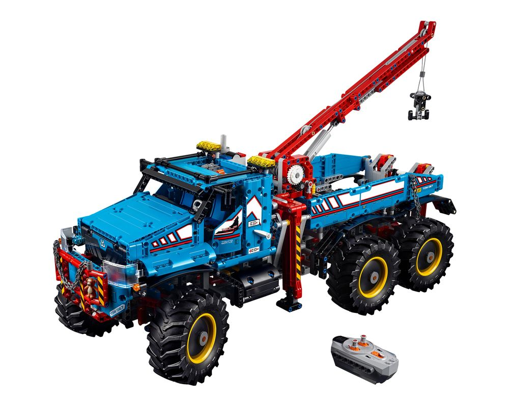 LEGO Set 42070-1 6x6 All Terrain Tow Truck (LEGO - Model)