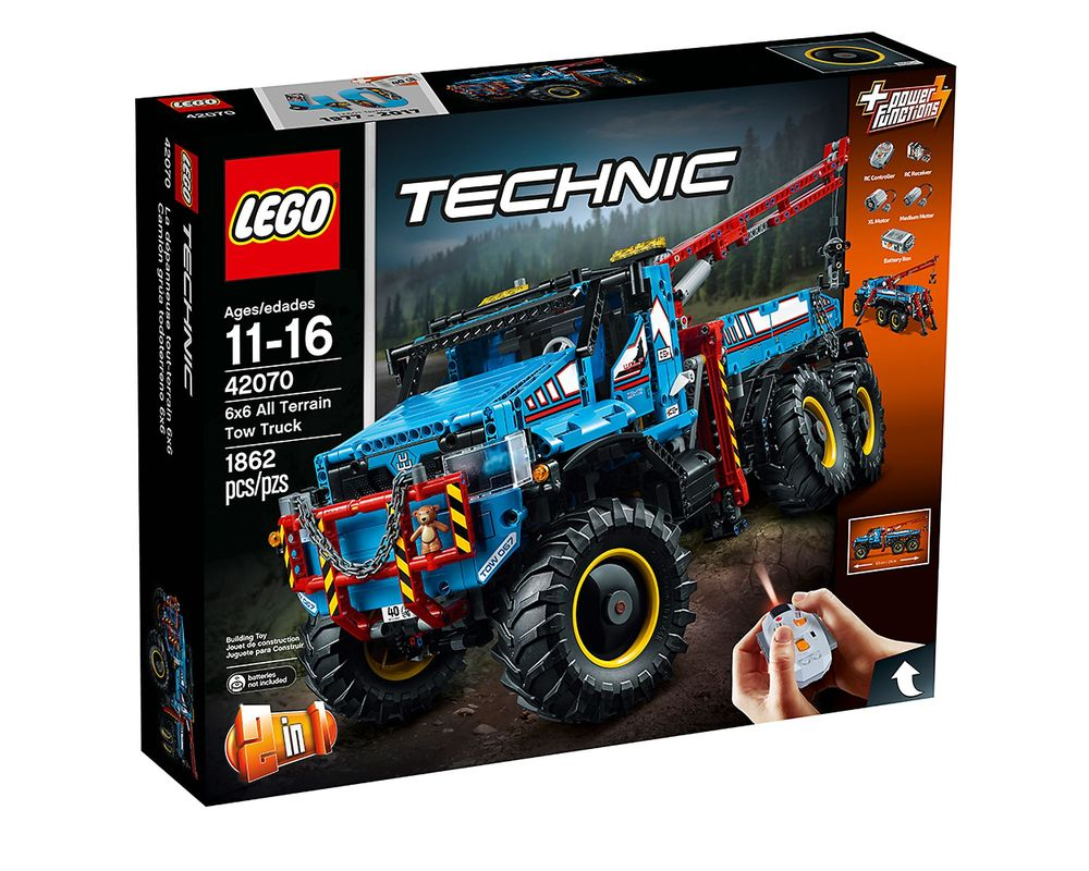 LEGO Set 42070-1 6x6 All Terrain Tow Truck