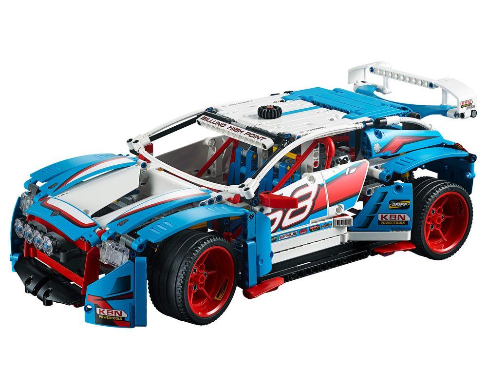 LEGO Set 42077-1 Rally Car (LEGO - Model)
