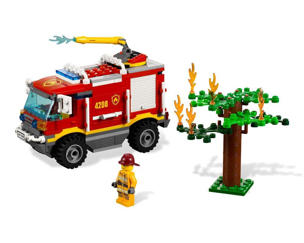 LEGO Set 4208-1 4 x 4 Fire Truck (Model - A-Model)