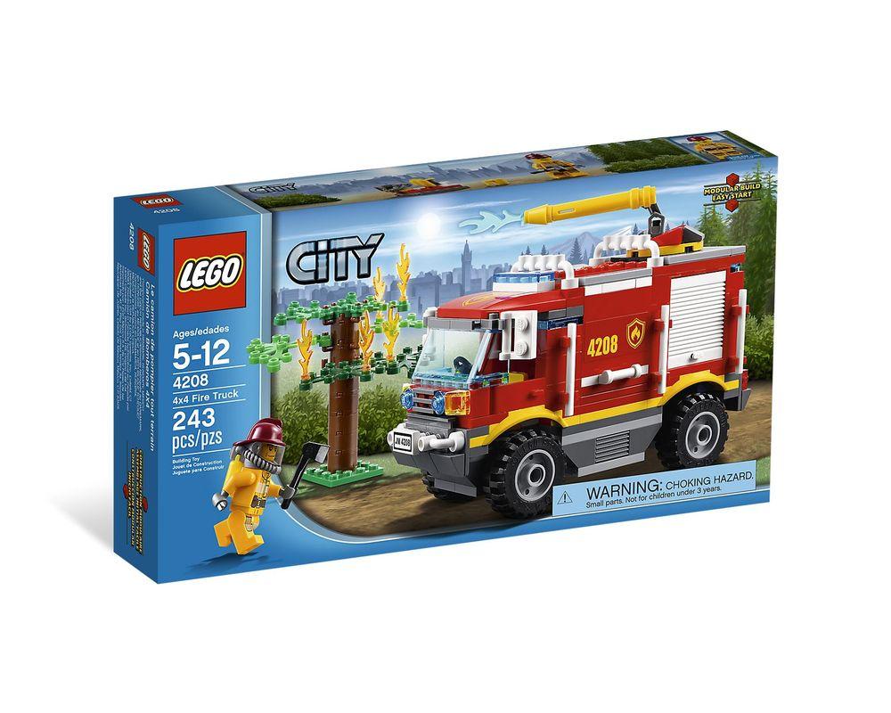 LEGO Set 4208-1 4 x 4 Fire Truck